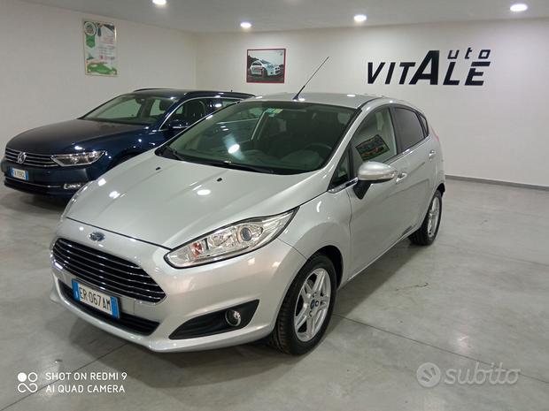 FORD Fiesta 1.5 tdci 75 cv titanium - 2013
