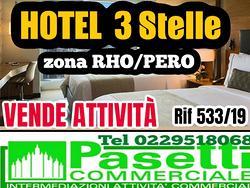 HOTEL 3 STELLE adiacenze Rho Fiera