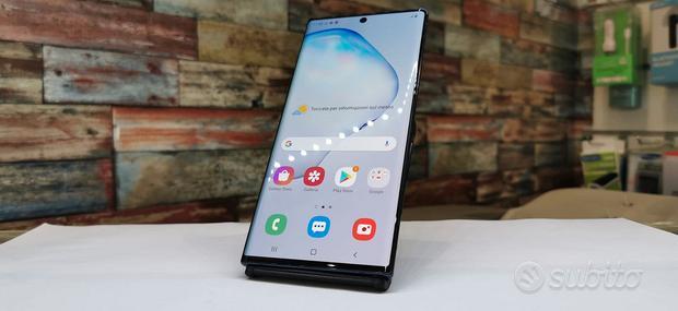 Samsung Galaxy Note 10 plus 256gb blu con garanzia