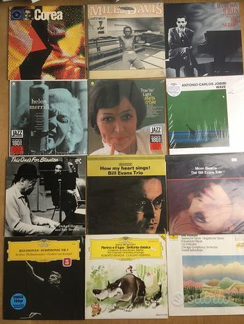 LP dischi 33 giri vinile jazz classica audiophile