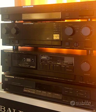MARANTZ Impianto Hi-Fi stereo vintage completo