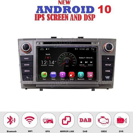 ANDROID GPS SD autoradio navigatore Toyota Avensis