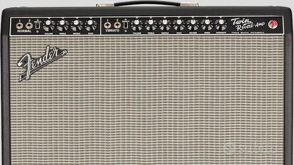 Fender Twin Reverb Tone Master Black