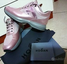 Hogan interactive donna rosa lilla nuove - Abbigliamento e ...