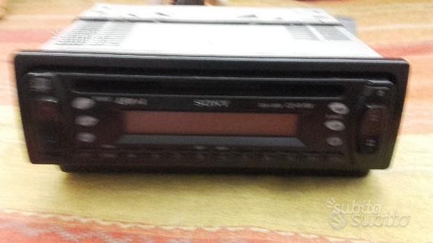 Radio-lettore cd sony