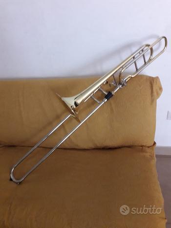Trombone Tenore a Coulisse Sib-Fa