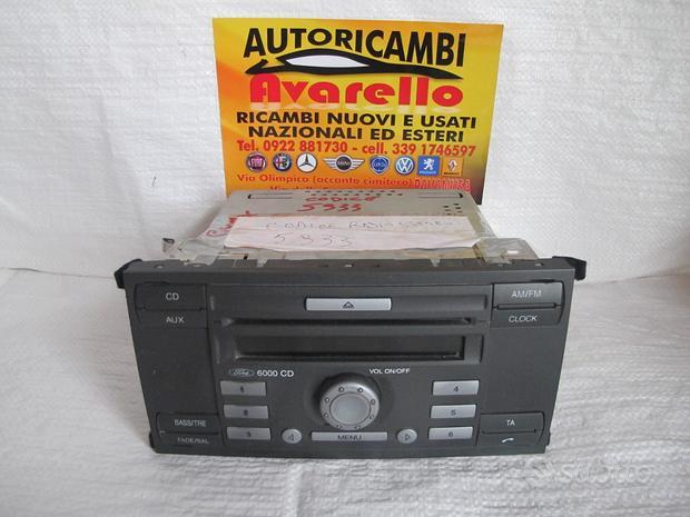 8m5t-18c815-db autoradio ford focus c-max 2008