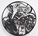 Nuovo orologio vinile Disney La bella e la bestia