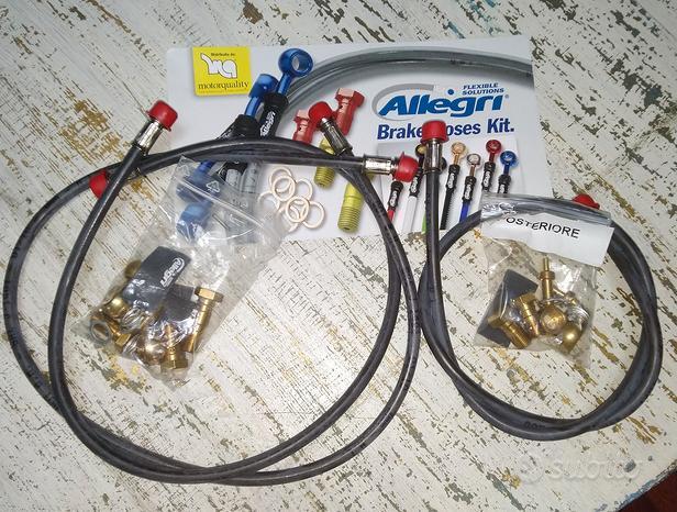 TRIUMPH DAYTONA 675 - kit tubi Racing Allegri