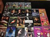N.14 DVD Film vari + 8 DVD cartoni animati omaggio