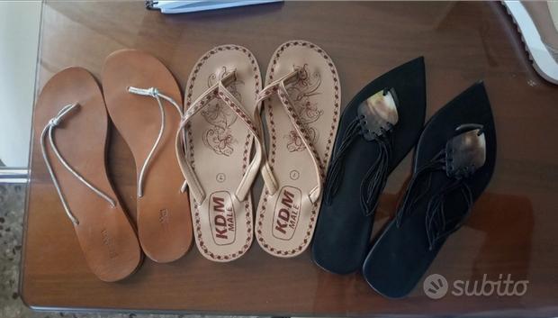 Sandali colori e modelli diversi