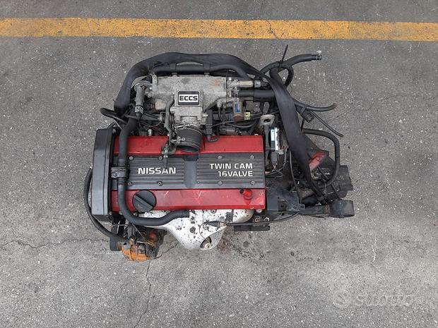 Motore cambio Nissan Sunny 91 1800cc B. 16V CA18DE