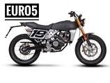 Fantic Motor Caballero 125 Flat Track E5 Nero