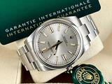 Rolex Oyster Perpetual 41mm Argento Silver - 2021