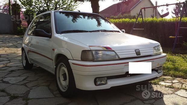 Set completo adesivi Peugeot 106 1.3 Rallye