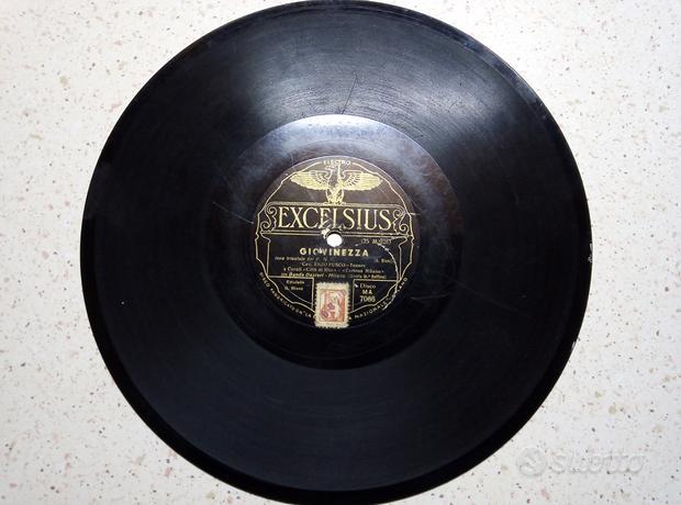 Dischi vinile vintage 78 e 45 giri
