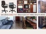 MOBILI, divano, tavolo, mobile con letto girevole