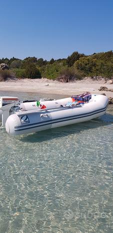Gommone Zodiac 3 metri bianco e motore