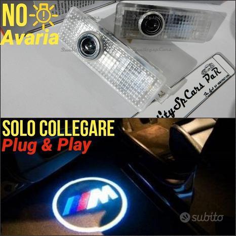 Proiettori Sottoporta BMW LOGO M SPORT L Cortesia