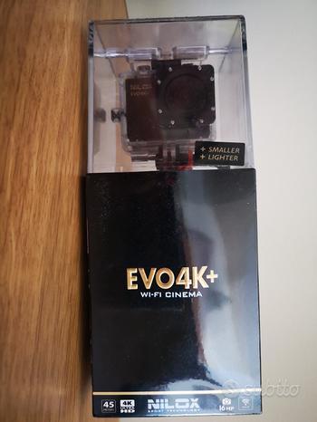 Action cam Nilox Evo 4K+ Wi-Fi Cinema