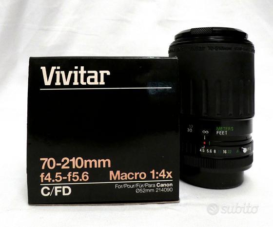 Vivitar 70-210mm f/4.5-5.6x Canon/FD