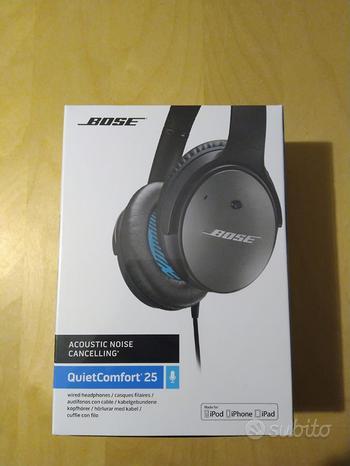 +++ Cuffie Bose qc 25 Bluetooth nuove +++