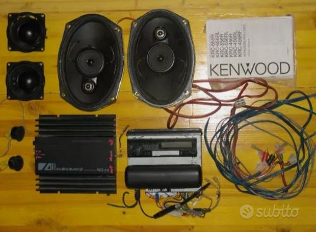 Stereo Kenwood per Auto