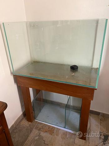 Vasca ideale per aquascapin 300 litri superchiaro