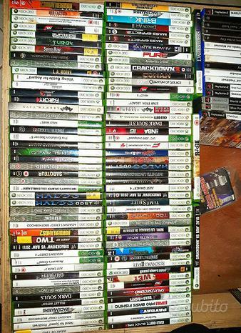 Xbox 360 GIOCHI COME NUOVI, ORIGINALI, ITALIANI