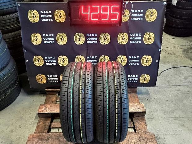 2 Gomme 225 50 17 PIRELLI RUNFLAT al 95% x BMW