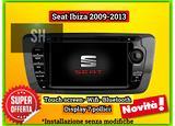 Navigatore android | iOS Seat Ibiza 2009 - 2013