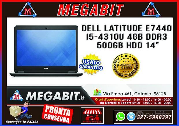 Notebook DELL Latitude E7440 i5 4Gb DDR3 500GB HDD