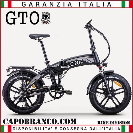 Bici Elettrica Capobranco Gto 48V 250W