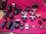 Collezione macchine fotografiche