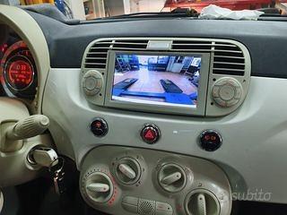 Autoradio navigatore fiat 500 android WIFI DVD