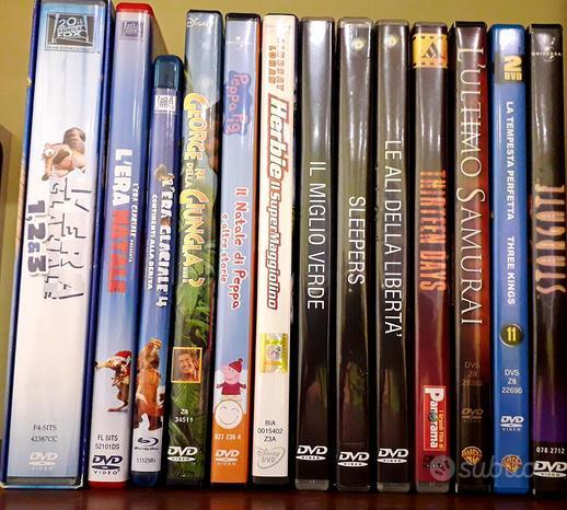 Film dvd blu ray thriller, avventura e per bambini