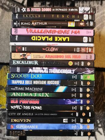5 Lotto Dvd Film Horror Action Fantasy Dvd Snapper