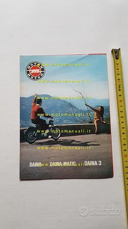 Motom 50 Daina-Dainamatic-Daina 3 1967 depliant