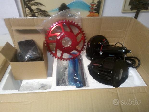 Trasformazione conversione fat bike motore kit