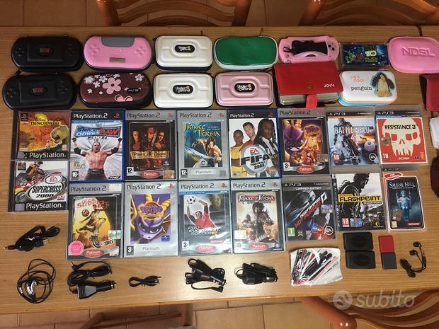 Videogiochi e accessori PS1,PS2,PS3,PSP e NDS