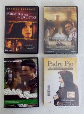 DVD nuovi incelofanati mai aperti vari titoli
