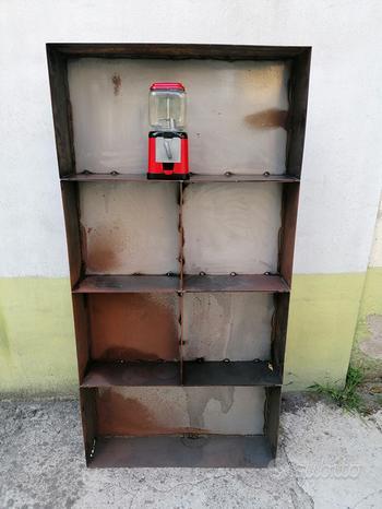 Mobile scaffale officina industrial vintage