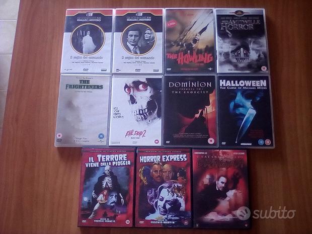 Dracula-Halloween 5 -Ululato -La casa 2-Amityville
