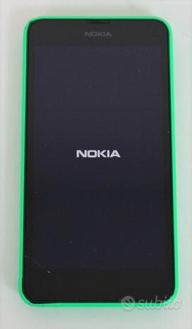 Nokia lumia 630 usato non funzionante telefono cel