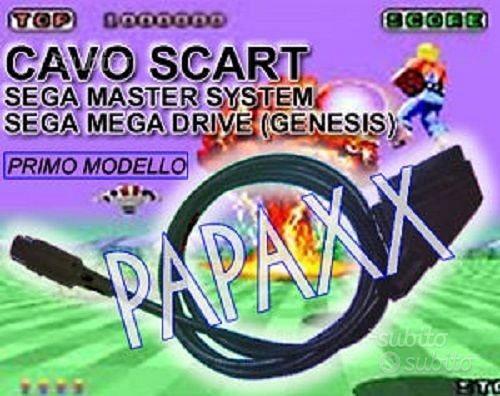 Cavo scart rgb sega mega drive 1 - sega master sys
