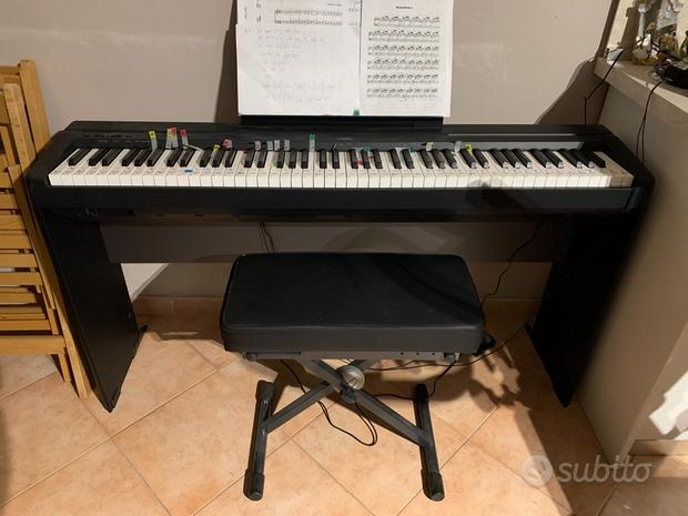 Pianoforte digitale yamaha p45 nuovo + accessori