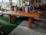 Tavolo in legno spazzolato cm 255x95