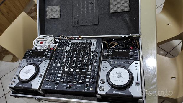 Pioneer cdj 400 + NOX 606 + FLY CASE