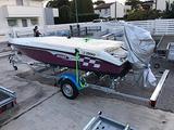 Rimorchio porta barca
