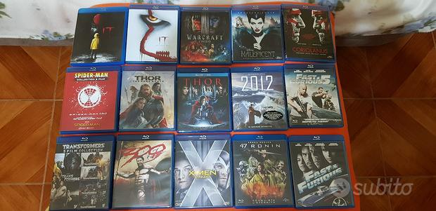 Blu ray + dvd praticamente nuovi